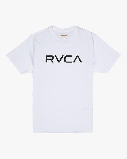 0 Big RVCA - T-shirt pour Homme Blanc S1SSRPRVP0 RVCA