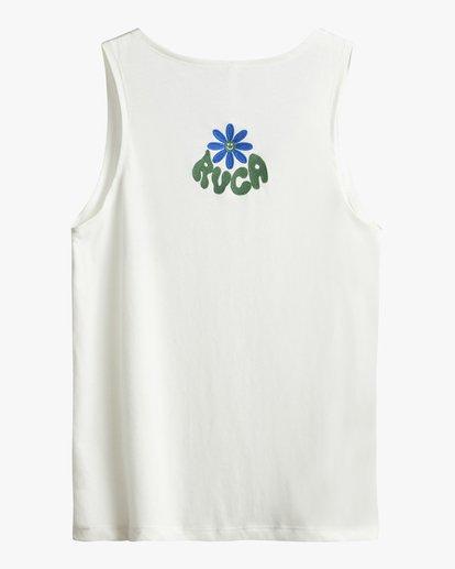 3 Happy Days - T-Shirt pour Femme Blanc S3SGRBRVP0 RVCA