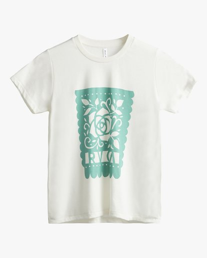 3 Hot Fudge La Rosa - T-Shirt for T-Shirt White S3SSRKRVP0 RVCA