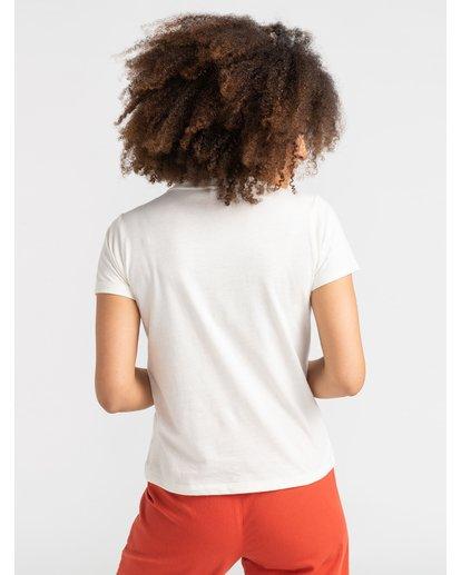 2 Hot Fudge La Rosa - T-Shirt for T-Shirt White S3SSRKRVP0 RVCA