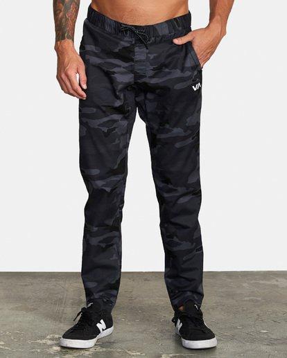 0 Spectrum III - Pantalon élastiqué pour Homme Camo S4PTMDRVP0 RVCA