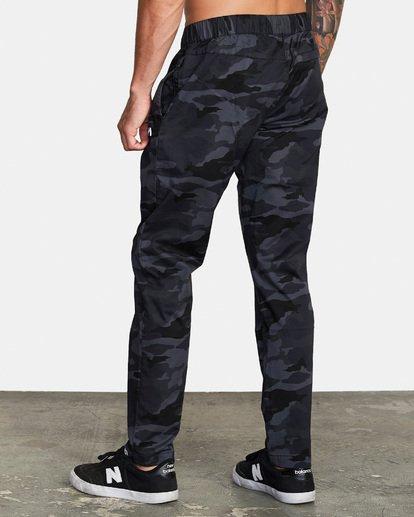 2 Spectrum III - Pantalon élastiqué pour Homme Camo S4PTMDRVP0 RVCA