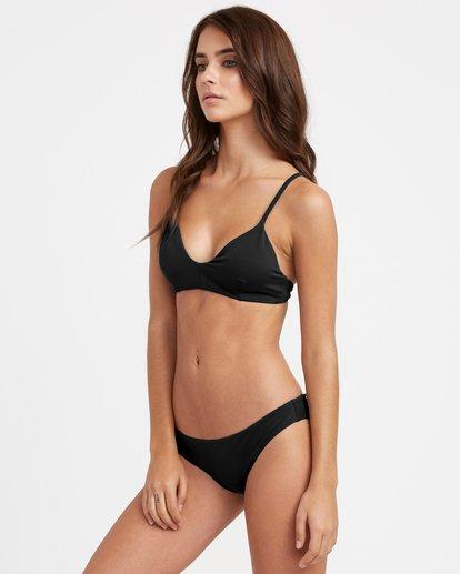 2 Solid Cheeky Bikini Bottoms  SJXB01SC RVCA