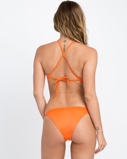 1 Solid Cross Back Bikini Top Brown SJXT01SC RVCA