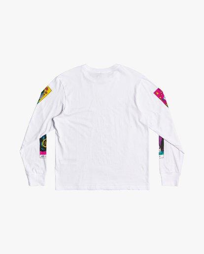 3 Superblast Tarot - Long Sleeve T-Shirt for Men White U1LSSARVF0 RVCA
