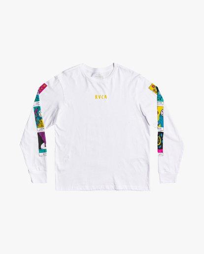 2 Superblast Tarot - Long Sleeve T-Shirt for Men White U1LSSARVF0 RVCA