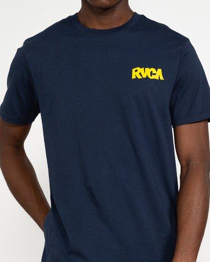 2 Roberto Rodriguez Redondo Snake - T-shirt pour Homme Bleu U1SSSQRVF0 RVCA