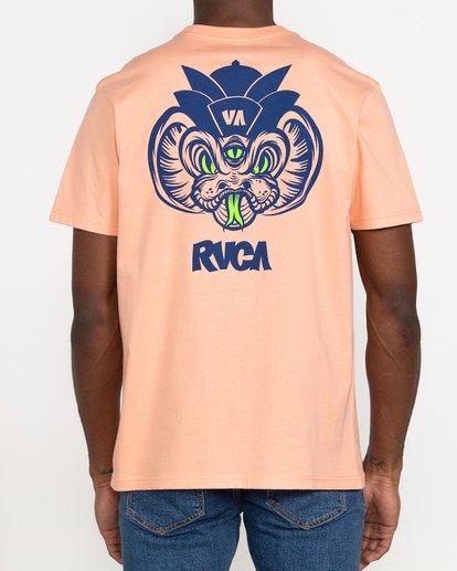 3 Roberto Rodriguez Redondo Snake - T-shirt pour Homme Rose U1SSSQRVF0 RVCA