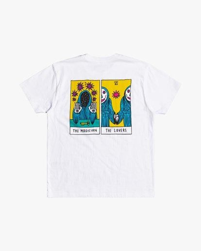 0 Superblast Tarot - T-shirt pour Homme Blanc U1SSSVRVF0 RVCA