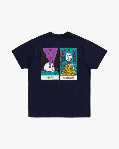 0 Superblast Tarot - T-Shirt for Men Blue U1SSSVRVF0 RVCA