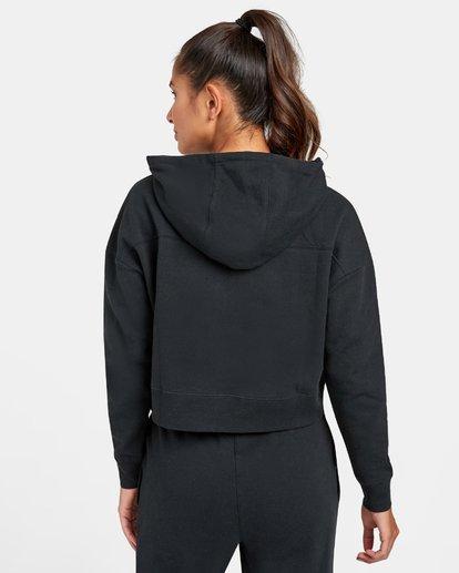 1 VA Sport - Sweat à capuche pour Femme Noir U4HOWARVF0 RVCA