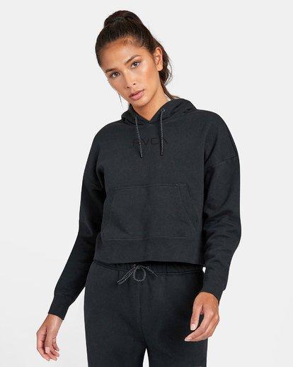 0 VA Sport - Sweat à capuche pour Femme Noir U4HOWARVF0 RVCA