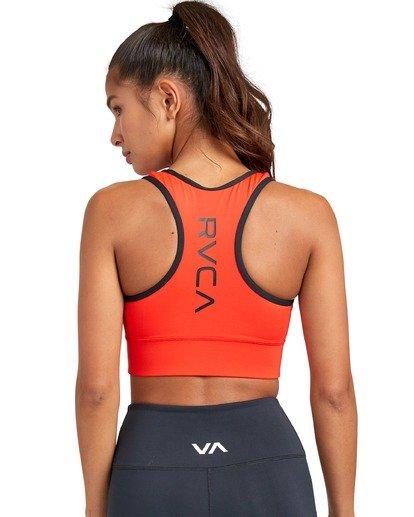 1 VA Sport Takedown - Brassière de sport pour Femme Rouge U4UNWBRVF0 RVCA