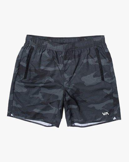 """0 Yogger IV 17"""" - Short pour Homme Camo U4WKMJRVF0 RVCA"""