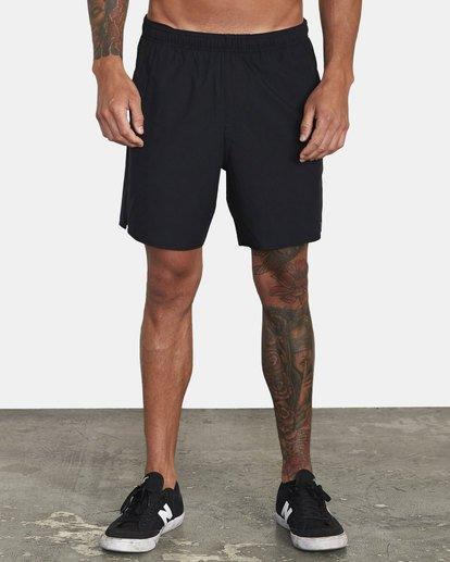 "1 Yogger IV 17"" - Shorts for Men Black U4WKMJRVF0 RVCA"