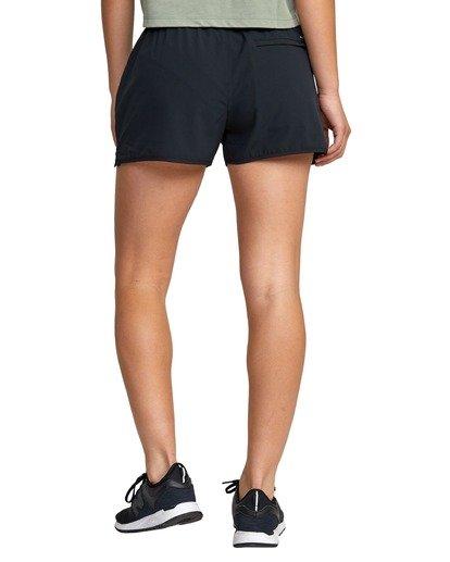 1 Womens Yogger - Short stretch pour Femme Noir U4WKWERVF0 RVCA