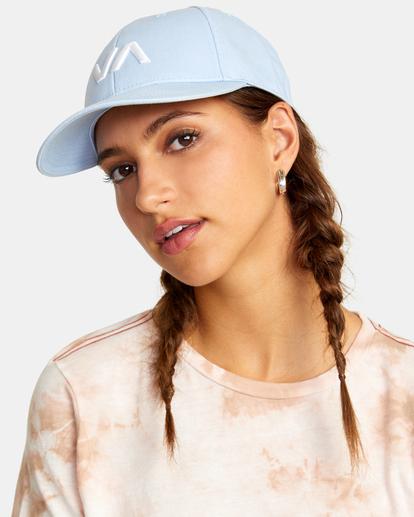 2 VA Baseball Hat Purple UVJHA00105 RVCA