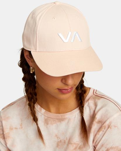 1 VA Baseball Hat Grey UVJHA00105 RVCA