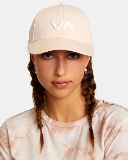 0 VA Baseball Hat Grey UVJHA00105 RVCA