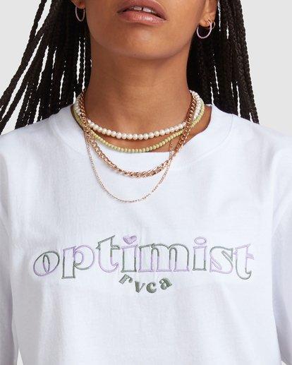 2 Optimist Easy Tee White UVJZT00111 RVCA
