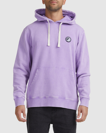 0 Latitude Pullover Hoodie Purple UVYFT00137 RVCA