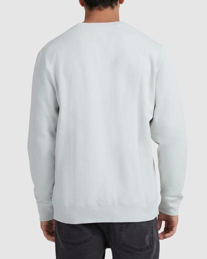 2 Flipped RVCA Crewneck Sweatshirt Green UVYFT00143 RVCA