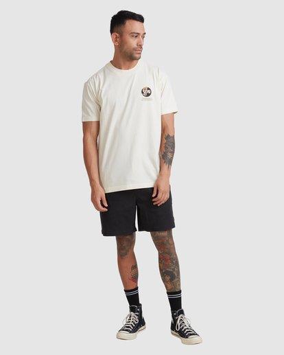 4 VA All Time Short Sleeve Tee White UVYZT00191 RVCA