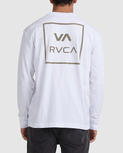 2 VA ATW LONG SLEEVE TEE White UVYZT00202 RVCA