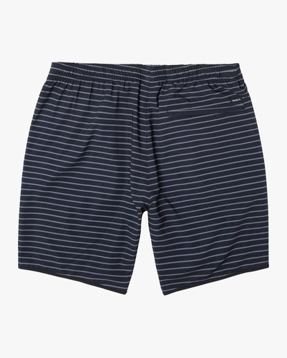 """1 YOGGER STRETCH recycled 17"""" workout SHORT Multicolor V201TRYS RVCA"""