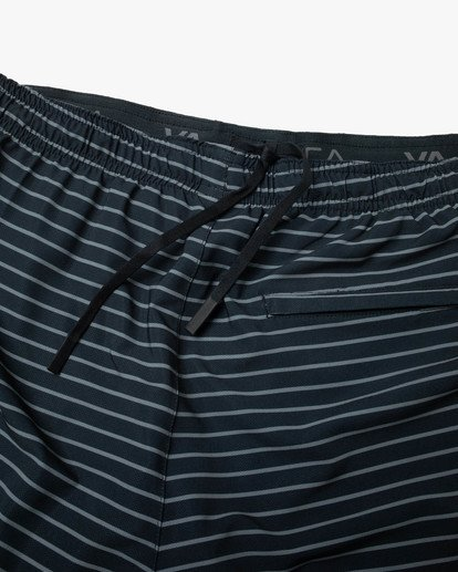 """12 YOGGER STRETCH recycled 17"""" workout SHORT Multicolor V201TRYS RVCA"""