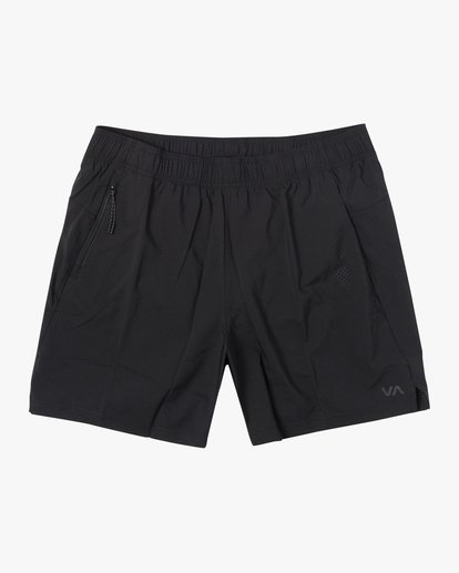 "0 Tech Strike Train Gym Shorts 16"" Black V2023RTS RVCA"
