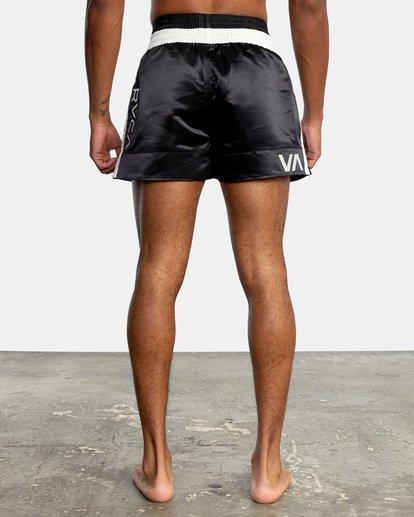 "1 RVCA Muay Thai Gym Shorts 15"" Black V2031RMT RVCA"