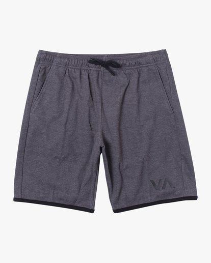 """0 VA Sport IV Gym Shorts 20"""" Grey V2063RSS RVCA"""
