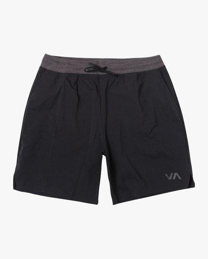"""0 Utility Gym Shorts 20"""" Black V2073RUS RVCA"""