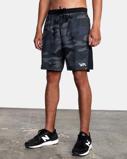 "6 YOGGER FLEX 19"" Short Brown V2123RYA RVCA"
