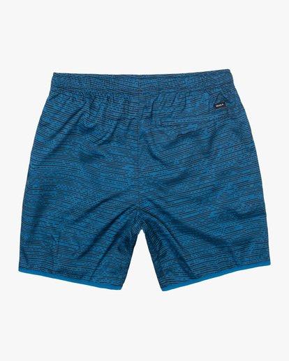 "1 Yogger IV Athletic Shorts 17"" Blue V2133RYG RVCA"