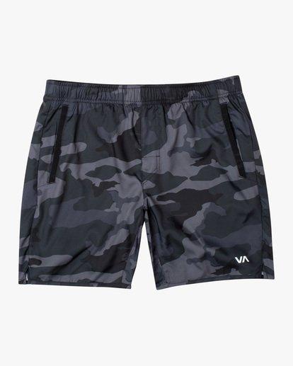 """0 Yogger IV Athletic Shorts 17"""" Brown V2133RYG RVCA"""