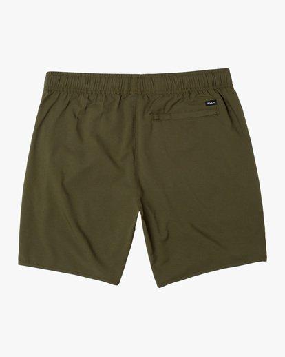 "1 Yogger IV Athletic Shorts 17"" Green V2133RYG RVCA"