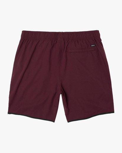 """1 Yogger IV Athletic Shorts 17"""" Pink V2133RYG RVCA"""