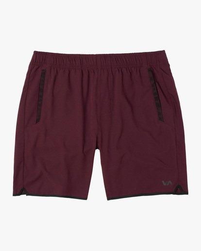 """0 Yogger IV Athletic Shorts 17"""" Pink V2133RYG RVCA"""