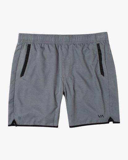 """0 Yogger IV Athletic Shorts 17"""" Grey V2133RYG RVCA"""