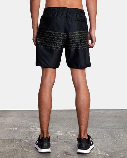"""4 Yogger IV Athletic Shorts 17"""" Black V2133RYG RVCA"""
