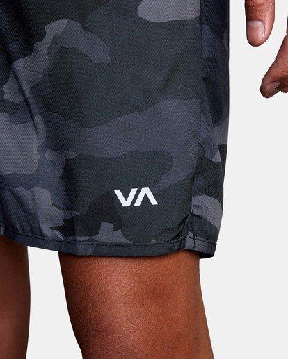 """8 Yogger IV Athletic Shorts 17"""" Brown V2133RYG RVCA"""