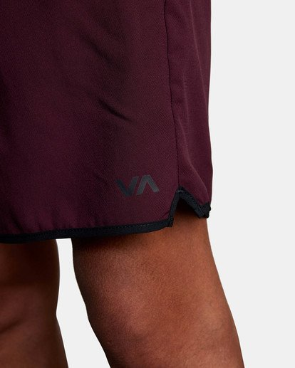 """8 Yogger IV Athletic Shorts 17"""" Pink V2133RYG RVCA"""