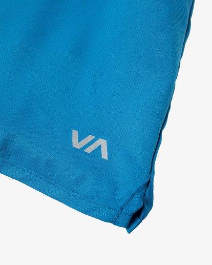 """11 Yogger IV Athletic Shorts 17"""" Black V2133RYG RVCA"""