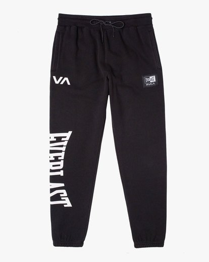 0 EVERLAST RELAXED SWEATPANTS Black V3083RES RVCA