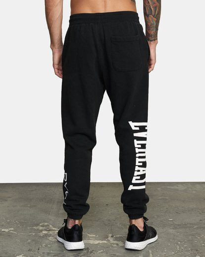 2 EVERLAST RELAXED SWEATPANTS Black V3083RES RVCA