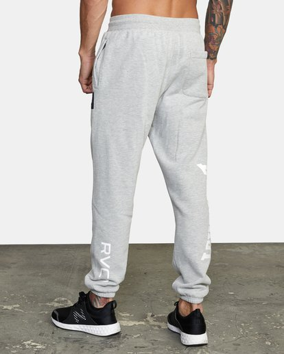 4 EVERLAST RELAXED SWEATPANTS Grey V3083RES RVCA
