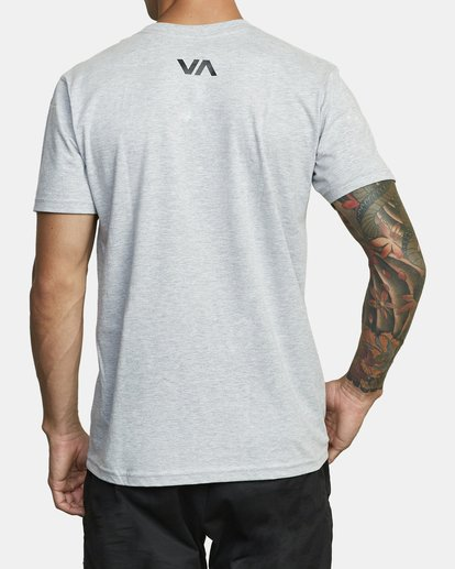 2 BOX OUT SHORT SLEEVE TEE Red V4013RBO RVCA
