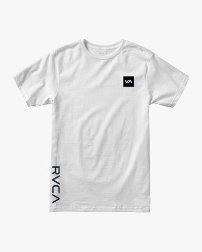 0 RVCA 2X Workout Shirt White V4041RRX RVCA